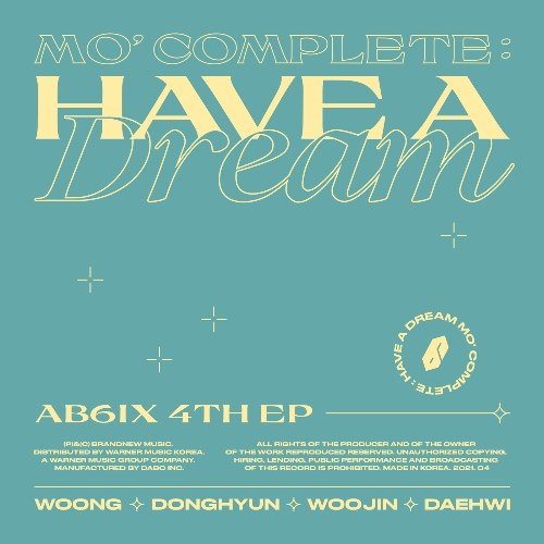 Mo' Complete : Have A Dream (EP)