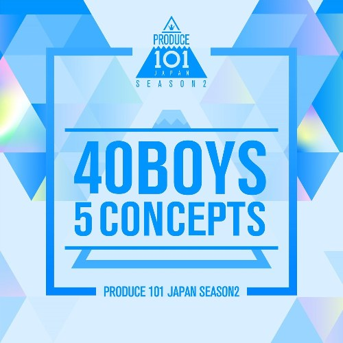 40 Boys 5 Concepts (EP)