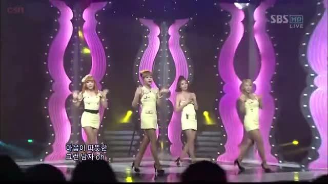 Intro; Shy Boy (SBS Inkigayo 09.01.2011)